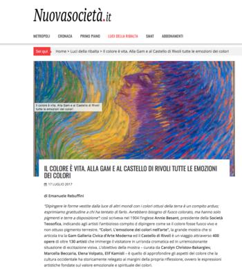 Maria-Morganti-il-colore-e-vita-alla-gam-e-al-castello-di-rivoli-tutte-le-emozioni-dei-colori-2017-Torino