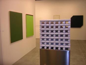 Maria-Morganti-stand-grossetti-arte-contemporanea-Bologna-2006-2006